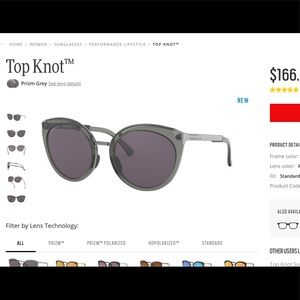 Brand new Oakley Top Knot